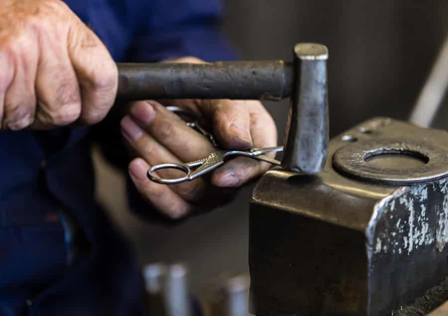 Ernest Wright Antique Stork scissors