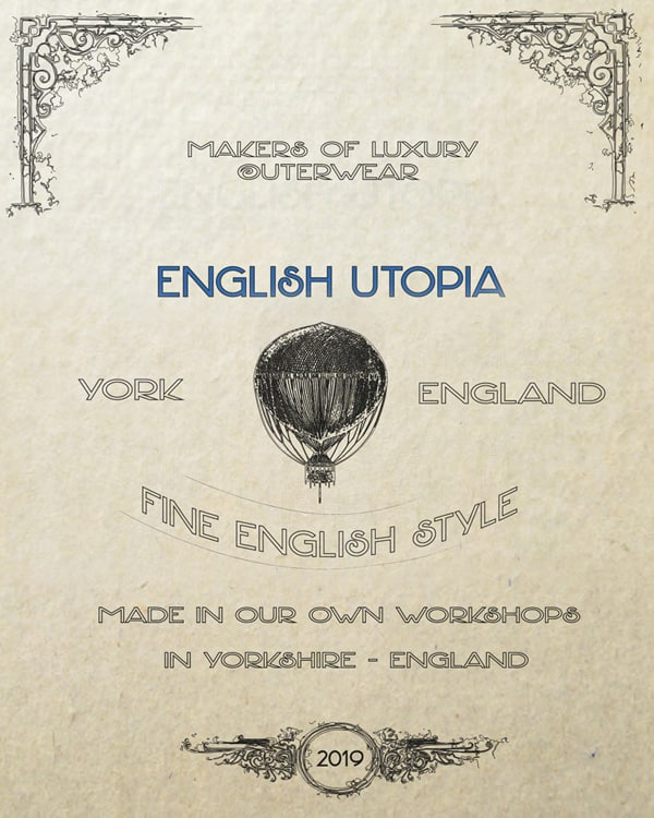 English Utopia of York, England advertisment