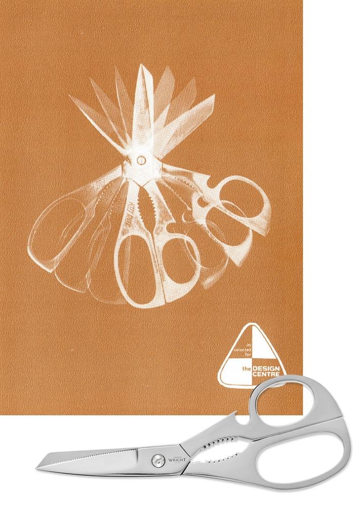 Ernest Wright Kutrite scissor poster