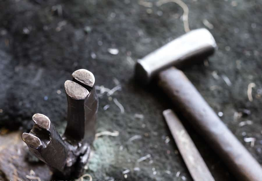 Ernest Wright traditional tools