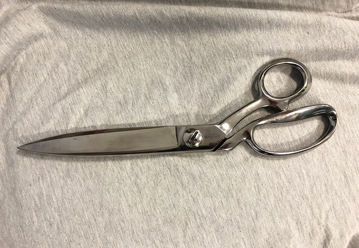"""Ernest Wright 12"""" Industrial Shears"""