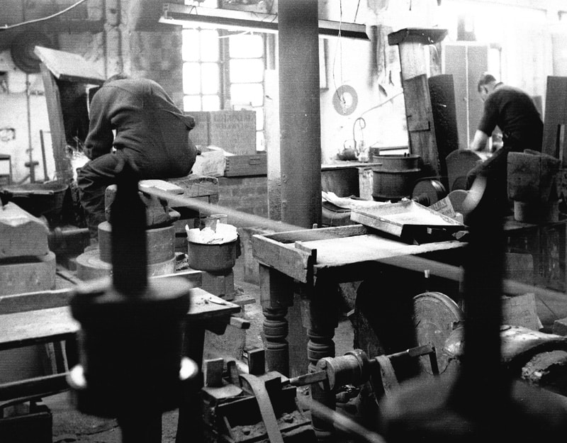 Heritage image of the workshop
