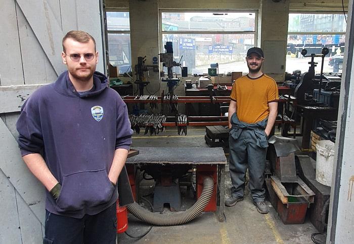 Ernest Wight workshop Sheffield