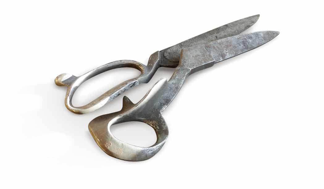 Ernest Wright dressmakers shears