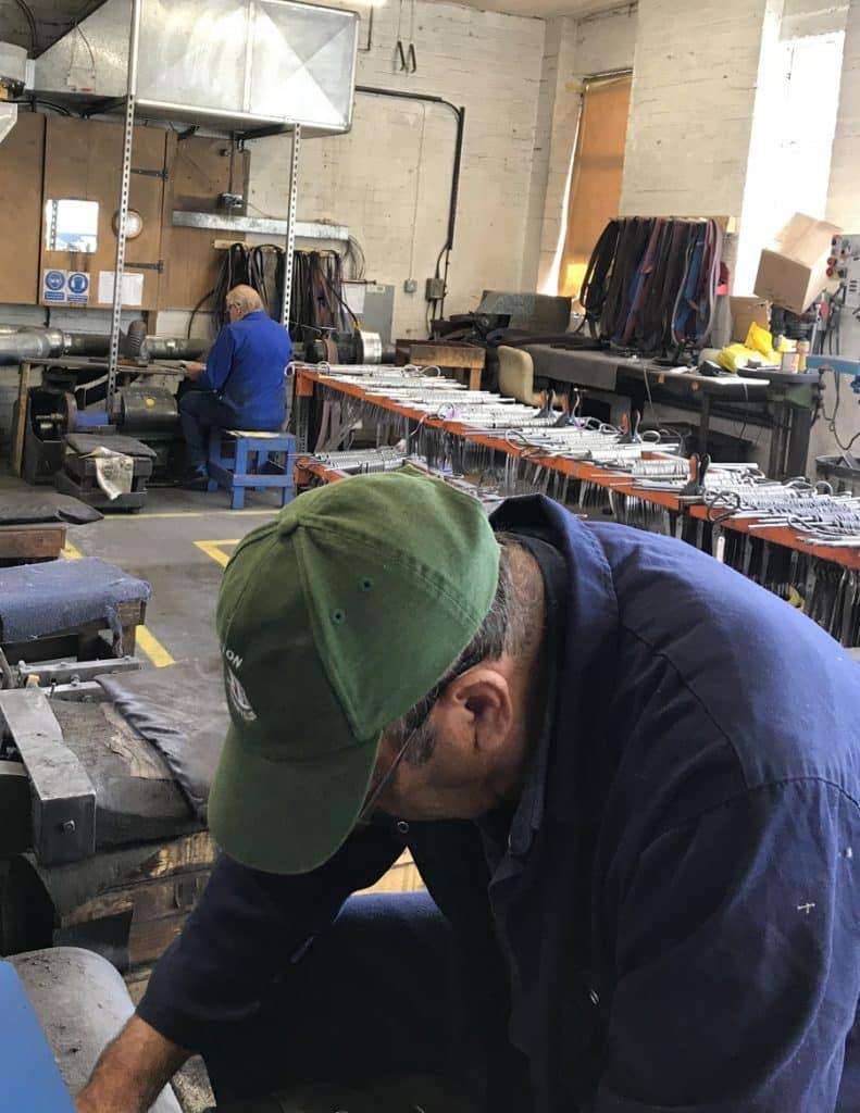 Ernest Wright Masterputters at work